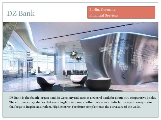 DZ Bank DZ Bank is the fourth largest bank in Germany and acts as a central bank for about 900 cooperative banks. The chro...