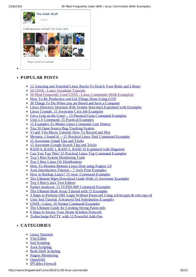 Free Download Pdf Unix Commands Tutorial celebs druckerei emotion uebungsaufgabe handytarif crusader