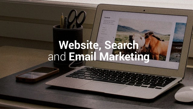 Website, Search and Email Marketing