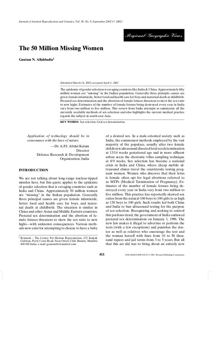 Journal of Assisted Reproduction and Genetics, Vol. 19, No. 9, September 2002 ( C 2002)                                   ...