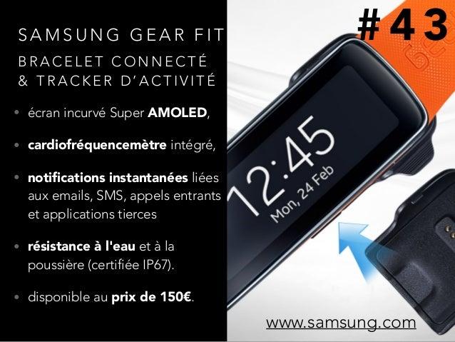 S A M S U N G G E A R F I T • écran incurvé Super AMOLED, • cardiofréquencemètre intégré, • notifications instantanées liée...