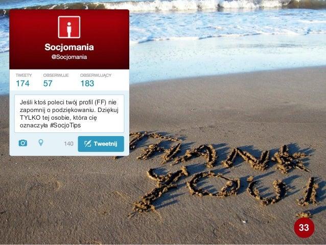 Jeśli ktoś poleci twój profil (FF) nie zapomnij o podziękowaniu. Dziękuj TYLKO tej osobie, która cię oznaczyła #SocjoTips ...