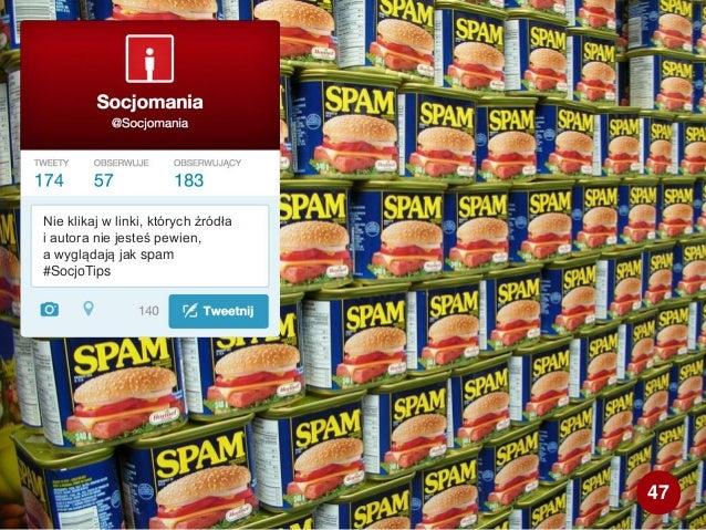 Nie klikaj w linki, których źródła i autora nie jesteś pewien, a wyglądają jak spam #SocjoTips 47