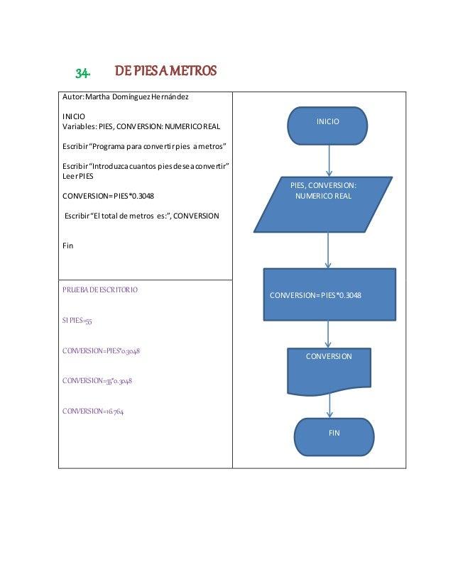 50 Programas Con Pseudocodigo Y Diagramas De Flujo