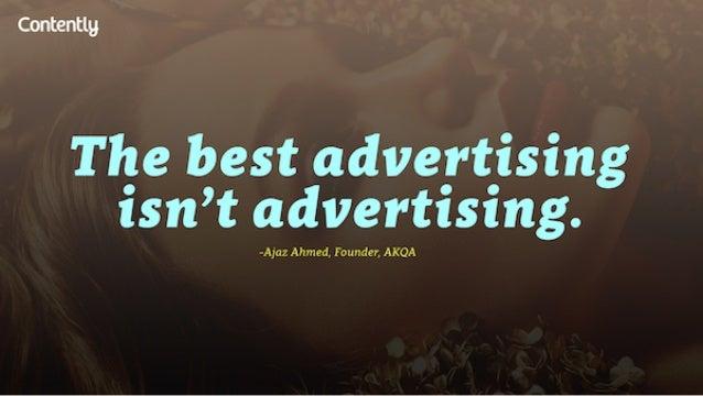Contentlg  Tlge best adve_rt_ising tsn't advertising.