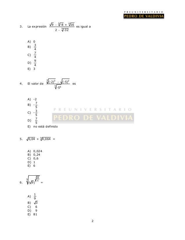 50 raíces y función raíz cuadrada