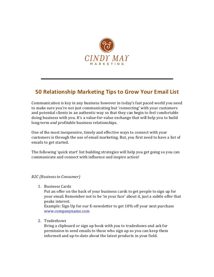 Email relationships dating tips
