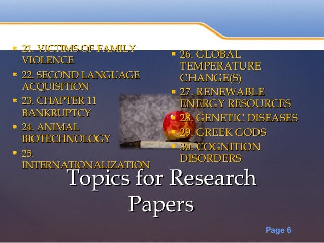 50 page research paper 50 best ideas for research paper topics in 2017  how to choose a good research paper topic selecting a research paper topic, make sure that it's interesting.