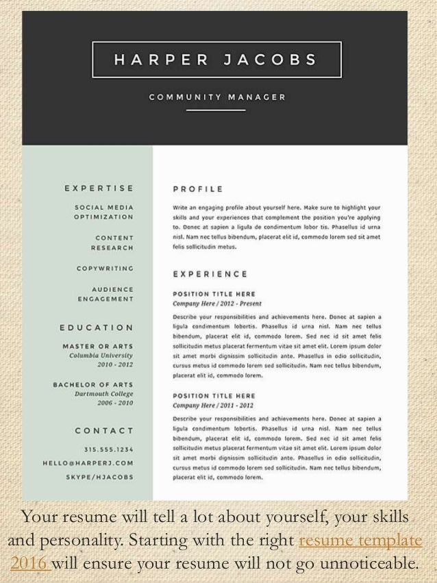 49 Your resume 50 resume samples