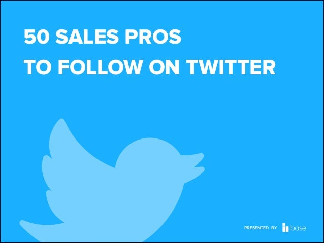 50 SALES PROS