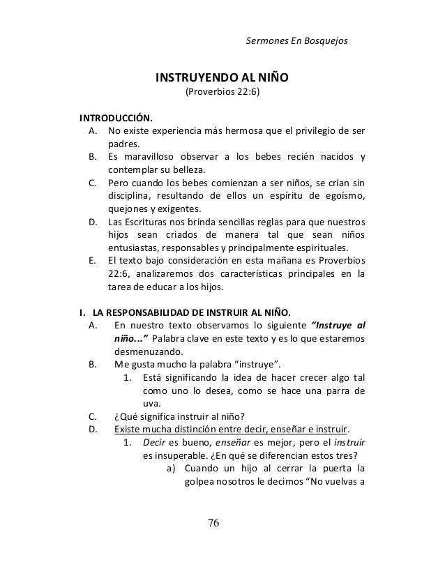 BOSQUEJOS EXPOSITIVOS EN PDF | Madurando en Cristo