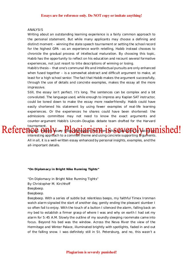 examples of referencing in essays
