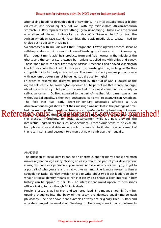 Personal struggle essay