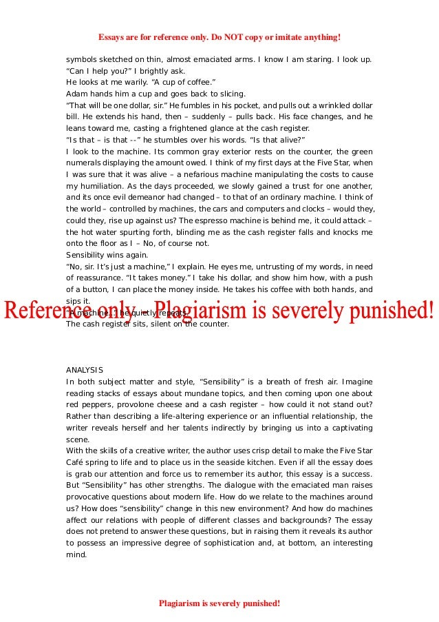 100 successful college application essays  Paper Writing