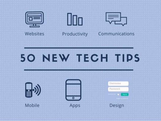 50 New Tech Tips - 2015