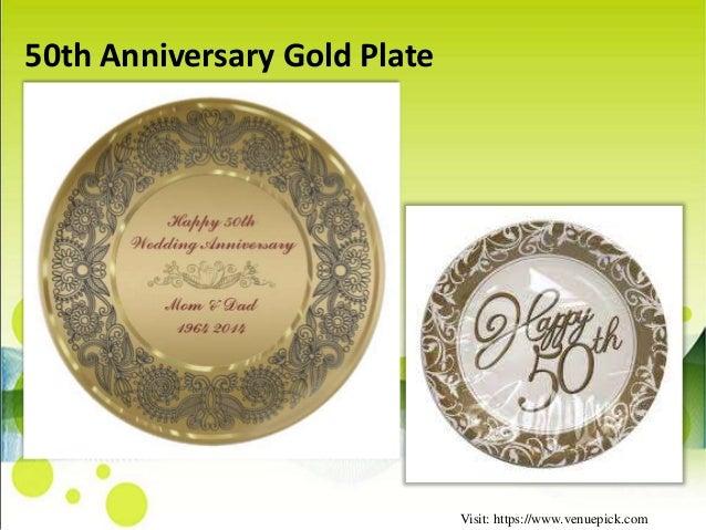 50th Wedding Anniversary Gift Ideas Gold: 50th Anniversary Gift Ideas