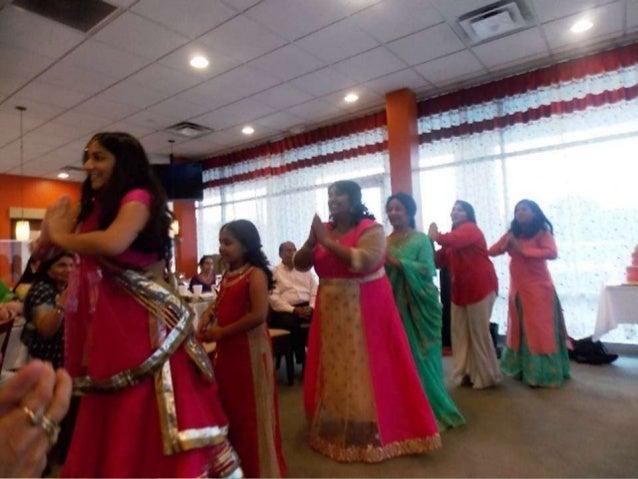 Th golden wedding anniversary celebration dance dinesh saroju