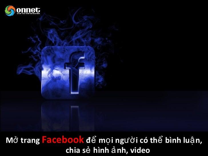 Tích hợ p quả n lí quan hệ khách hàng (CRM)    vớ i các hoạ t độ ng trên Facebook Fan