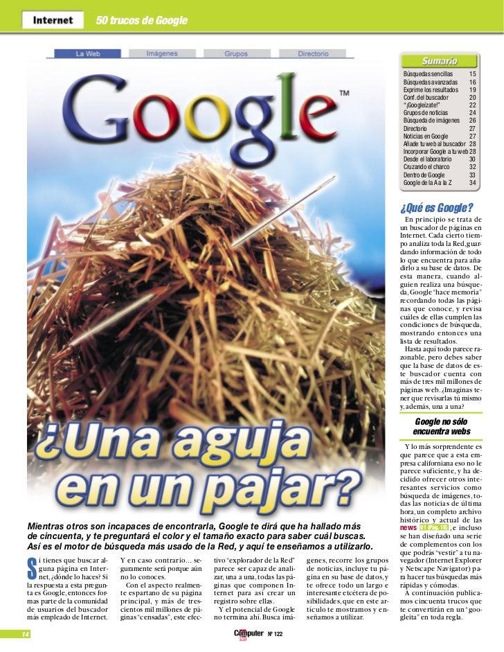 50 trucos de Google                                                                                                       ...