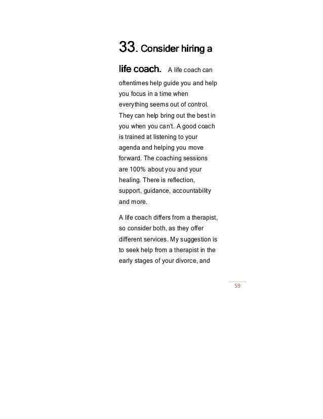 50 ways to flourish after divorce ebook 59 fandeluxe Choice Image