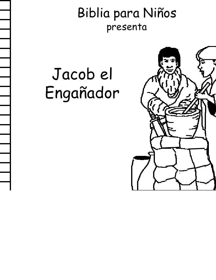 Biblia para Niños        presenta Jacob elEngañador