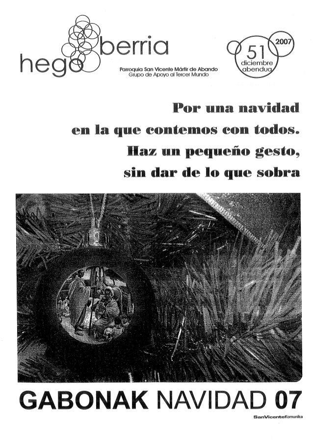 b 0 a g Parroquia San Wcente Mórfir de Abando  Grupo de Apoyo al Tercer Mundo           diciembre obenduo Por una navidad  ...
