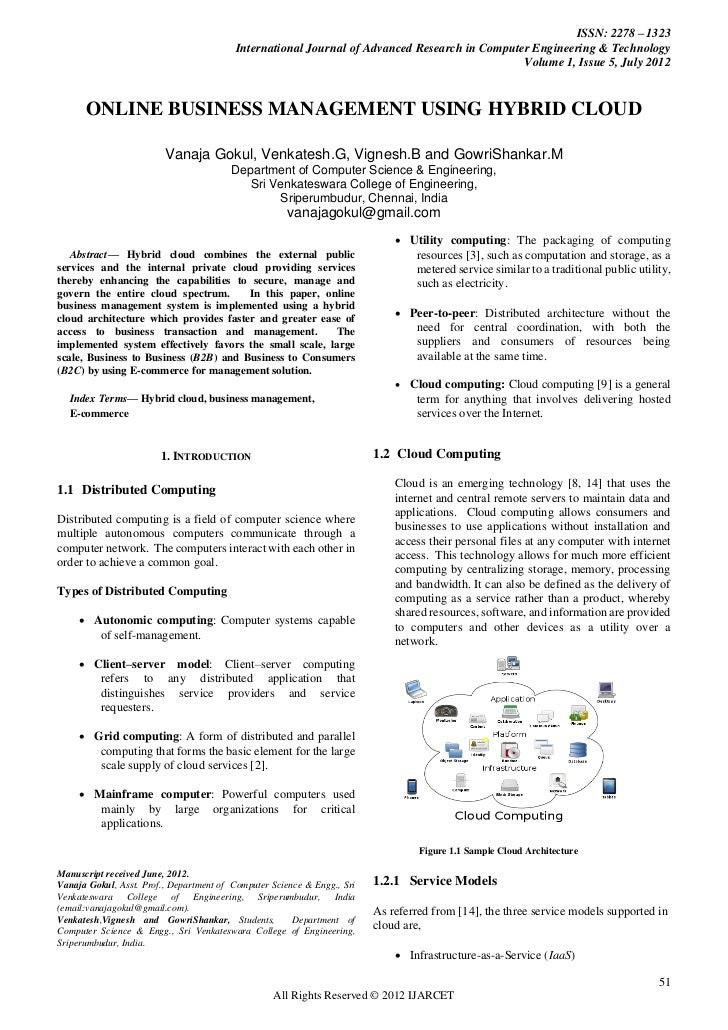 ISSN: 2278 – 1323                                         International Journal of Advanced Research in Computer Engineeri...