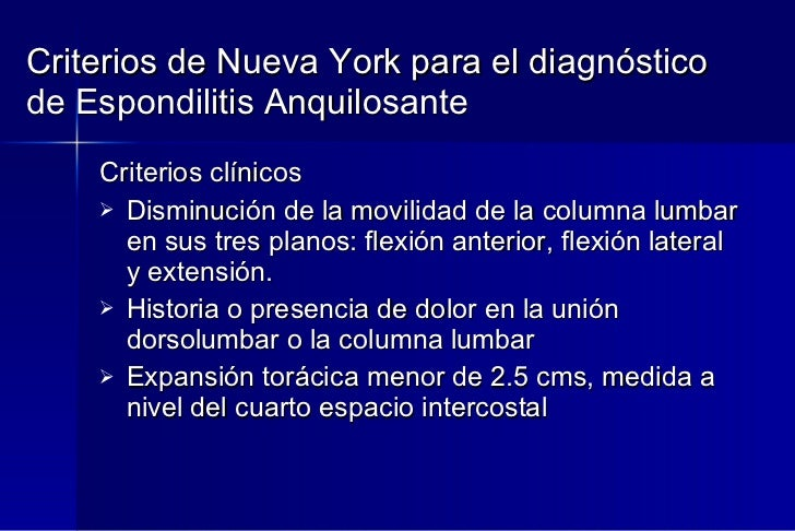 51 espondiloartritis for Cuarto espacio intercostal