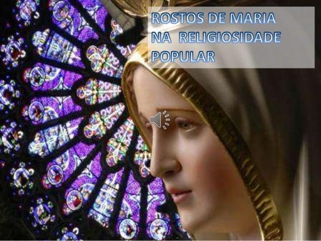 1. A devoção popular mariana