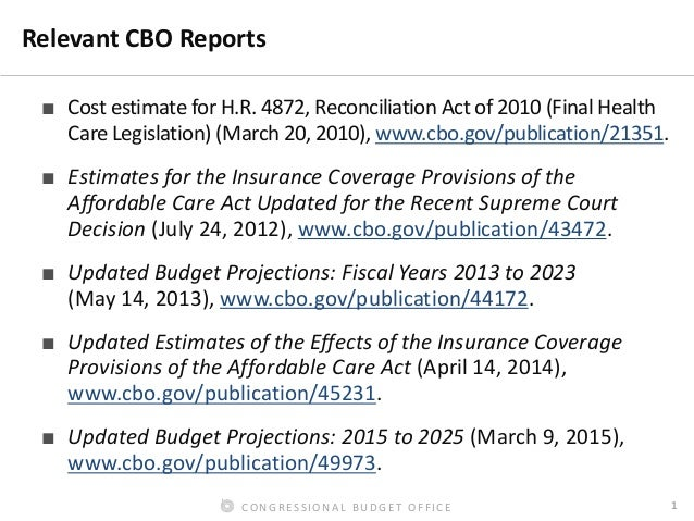 Forecasting Enrollment and Subsidies in the ACA Exchanges Slide 2
