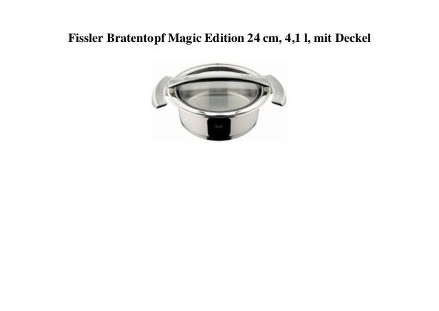 Fissler Bratentopf Magic Edition 24 cm, 4,1 l, mit Deckel