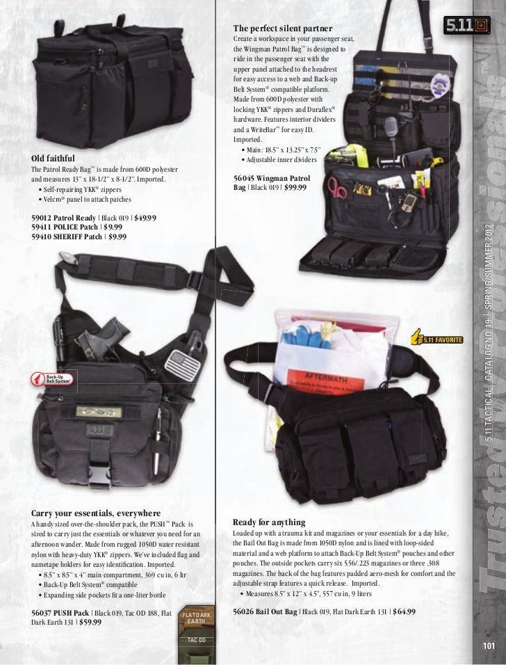511 Police Equipment And Gear 2012 Catalog Part5