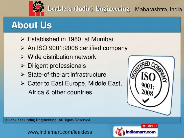 Pump & Pumping Equipment by Leakless (India) Engineering, Mumbai Slide 2