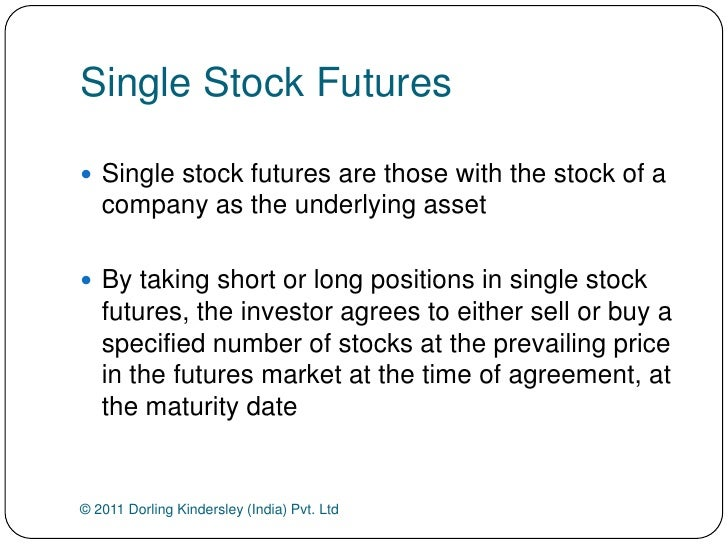 Optionsxpress single stock futures