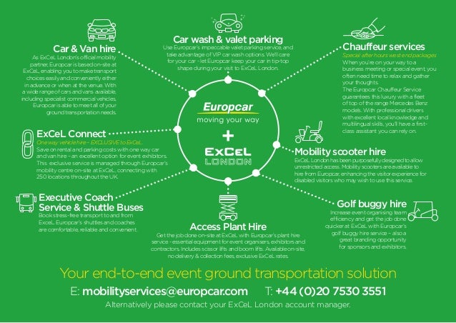 Europcar At Excel Infographic
