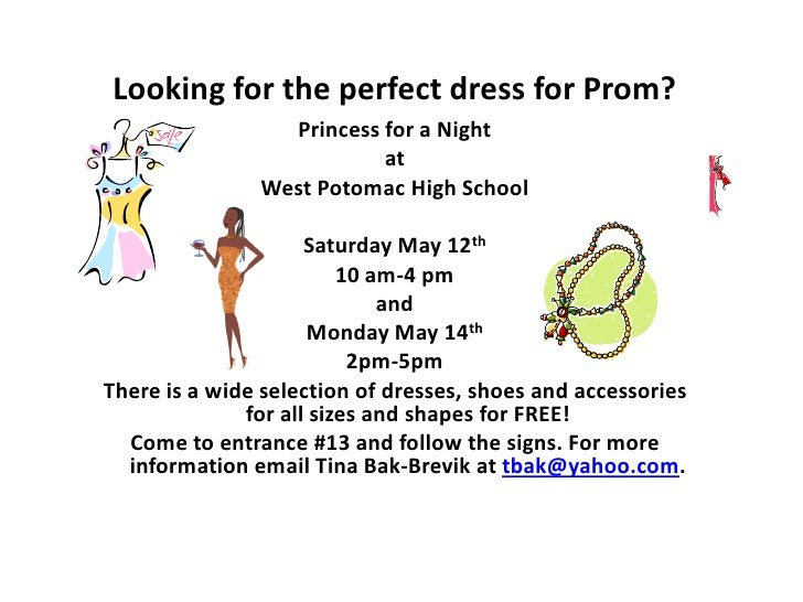 Looking for the perfect dress for Prom?                 Princess for a Night                          at               Wes...