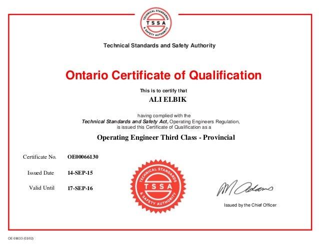 qualification certificate template costumepartyrun