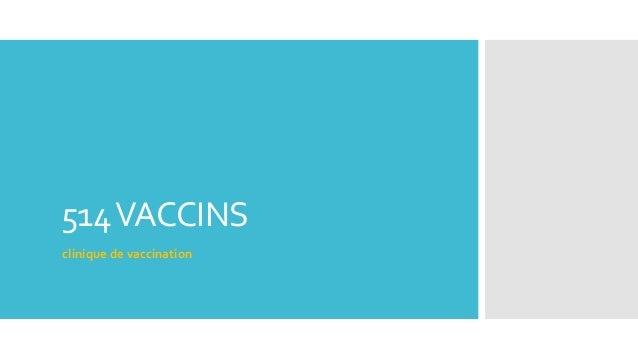 514VACCINS clinique de vaccination