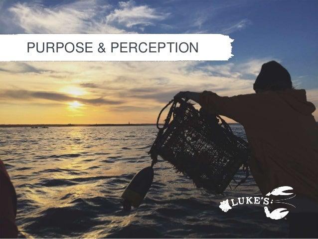 PURPOSE & PERCEPTION