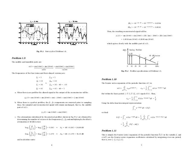 introduction to signal processing solution manual