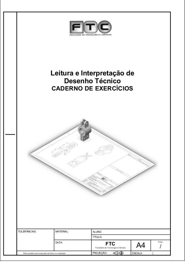 Pagina 1 1 3 d1e 31  Leitura e Interpretação de  Folha padrão para execução de treino ou avaliação  ALUNO :  A 4  FTC  TÍT...