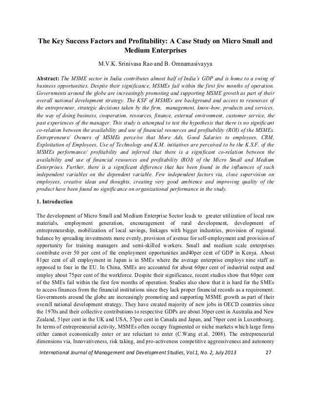 international journal of management and development studies ijmds
