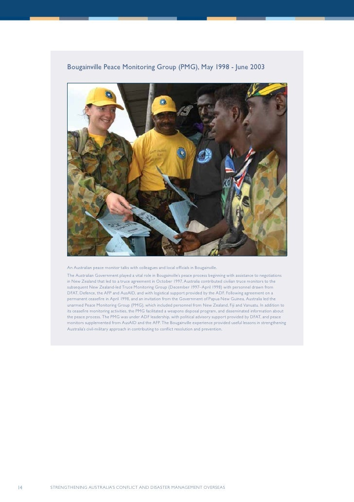 Strengthening australias conflict and disaster management overseas 13 14 bougainville malvernweather Image collections