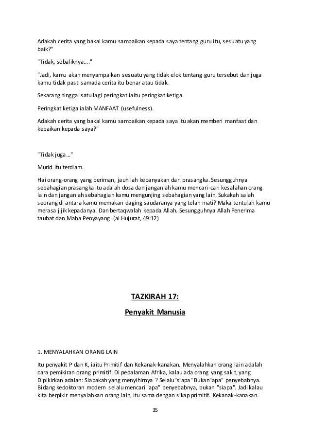 51814316 32807005 Koleksi Tazkirah Pendek Untuk Guru Agama Pegawai Pp
