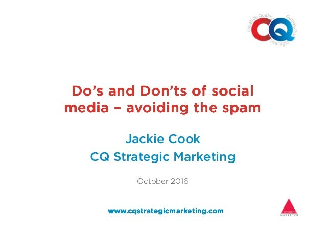 Do's and Don'ts of socialDo's and Don'ts of socialDo's and Don'ts of socialDo's and Don'ts of social mediamediamediamedia ...