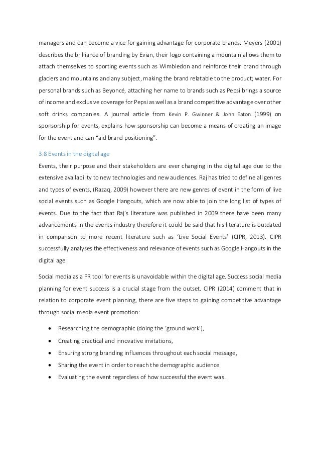 Events management dissertation. Event Management Dissertation   Free Essays - mesgirona.co