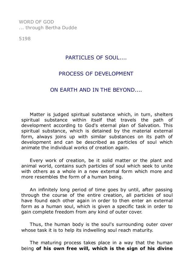 Way of Soul Development