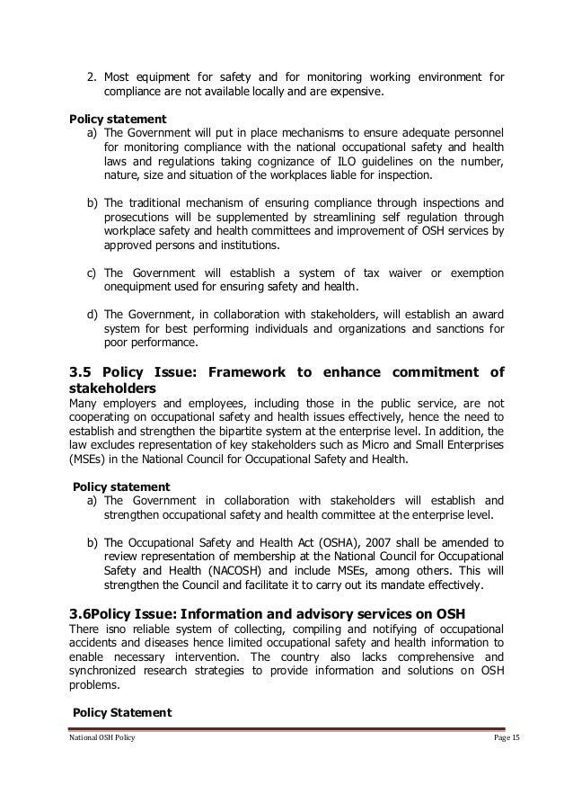 Kenya national osh policy 15 national osh policy friedricerecipe Images
