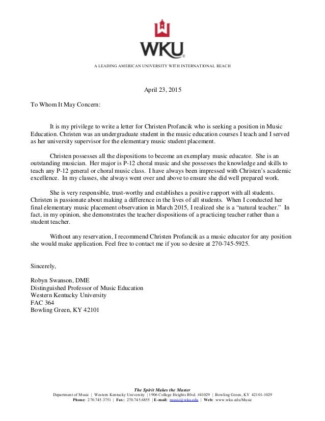 letter of recommendation  dr  robyn swanson