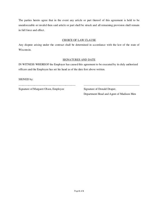 Dentist Employment Agreement Sample Employment Contract